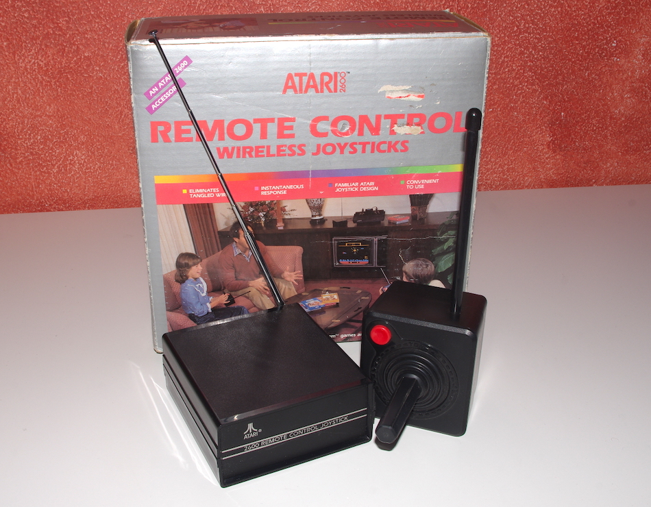 Atari CX42 Remote Control Wireless Joysticks