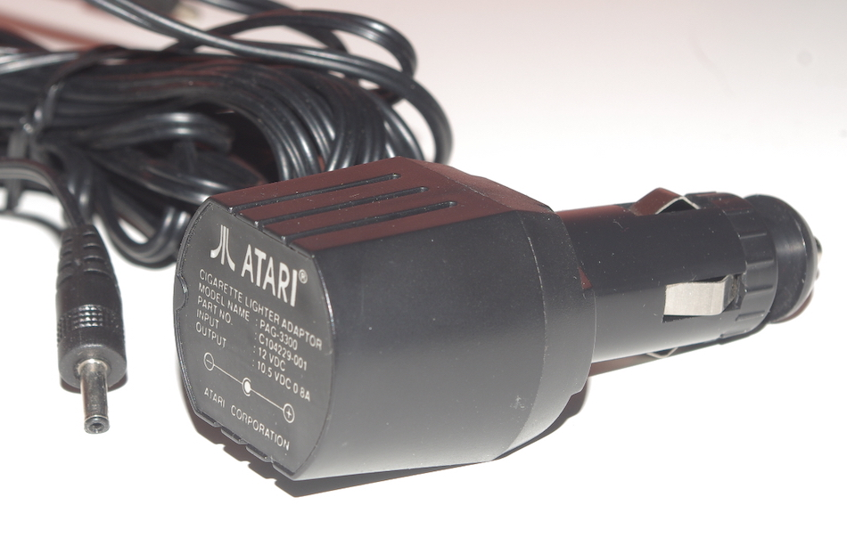 Atari Lynx Auto Cigarette Lighter Adaptor