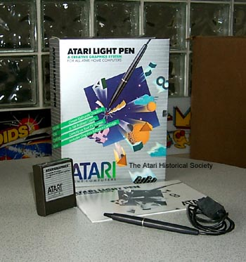 Atari Light Pen CX-75 / Bild: atarimuseum.com