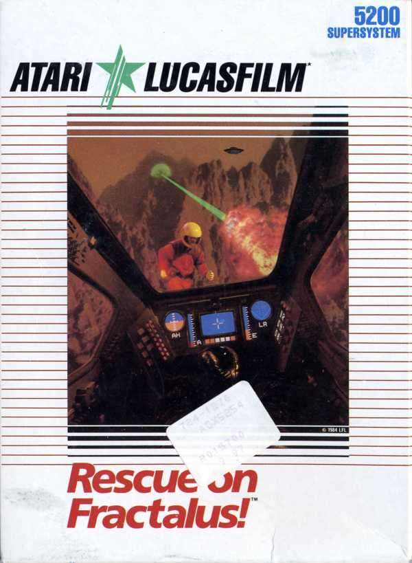 Atari 5200: Rescue on Fractalus!