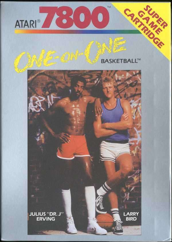 Atari 7800: One-on-One Basketball