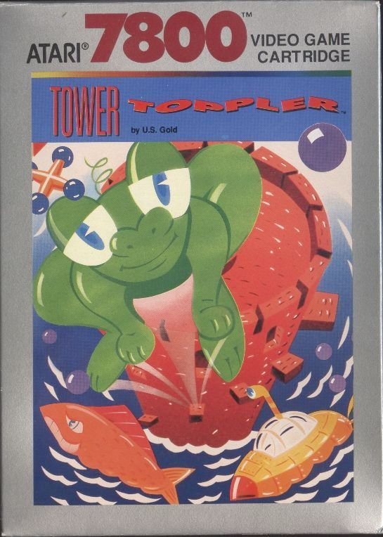 Atari 7800: Tower Toppler