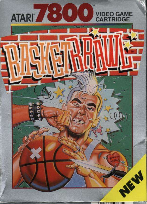 Atari 7800: BasketBrawl