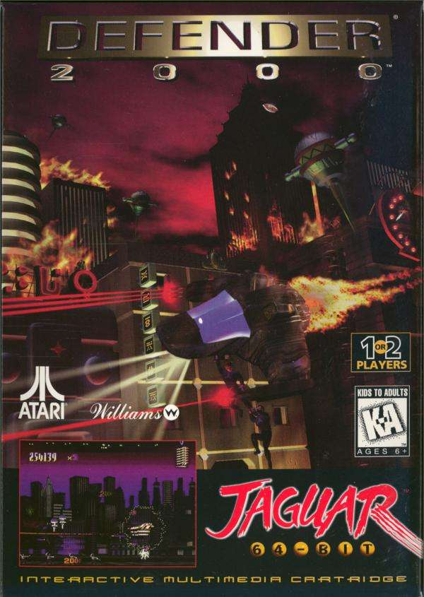 Atari Jaguar: Defender 2000