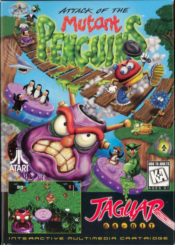Atari Jaguar: Attack of the Mutant Penguins