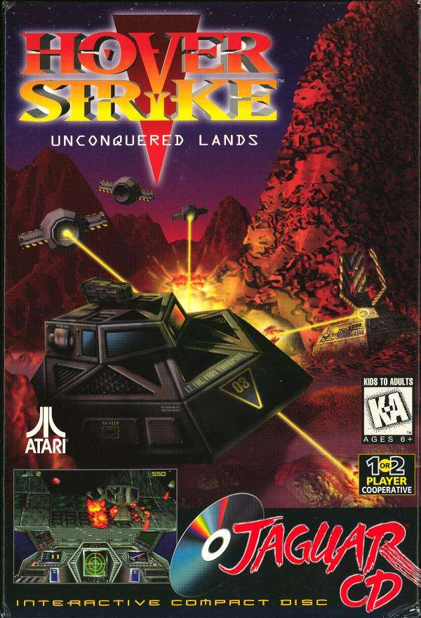 Atari Jaguar CD: Hover Strike - Unconquered Lands