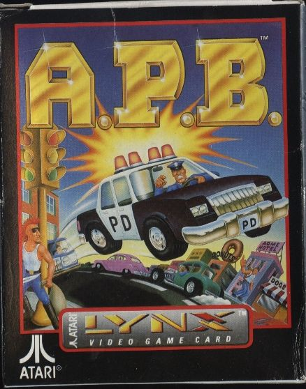 Atari Lynx: A.P.B. - All Points Bulletin
