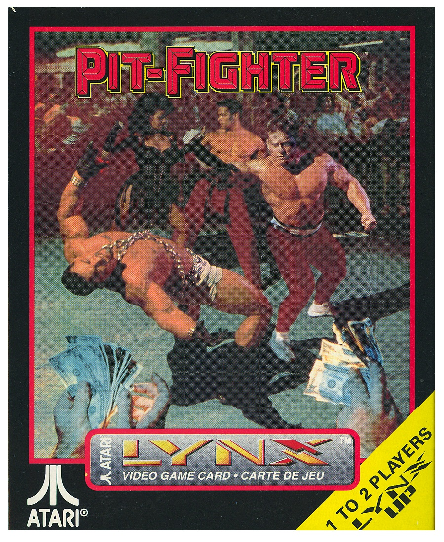 Atari Lynx: Pit-Fighter