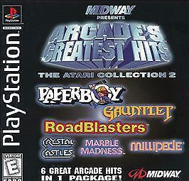 Sony PlayStation: Arcade's Greatest Hits - The Atari Collection 2
