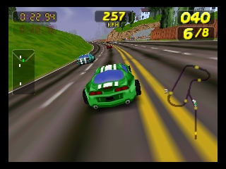 Nintendo 64: San Francisco Rush - Extreme Rush (Screenshot)