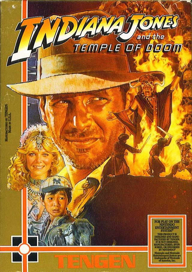 Tengen: Indiana Jones and the Temple of Doom