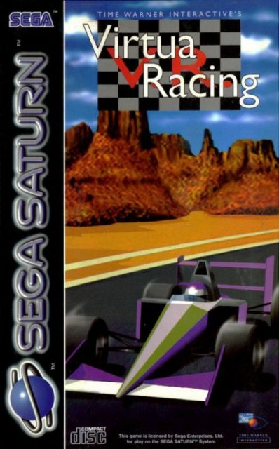 Sega Saturn: V.R. Virtua Racing (Time Warner Interactive)