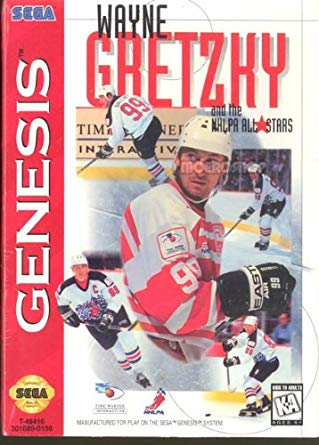 Sega Genesis: Wayne Gretzky and the NHLPA All-Stars